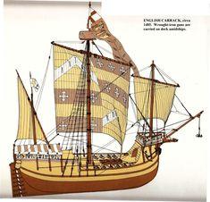 English Carrack circa 1485