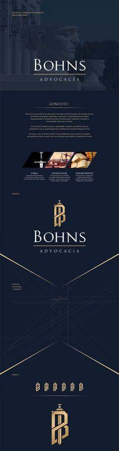 Bohns Advocacia // Branding on Behance
