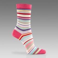 Paul Smith Socks - Pink Signature Stripe Socks