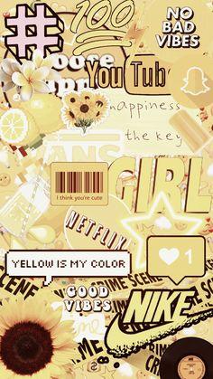 Iphone Wallpaper Yellow, Iphone Wallpaper Vsco, Cute Pastel Wallpaper, Cartoon Wallpaper Iphone, Cute Wallpaper For Phone, Diy Wallpaper, Cute Patterns Wallpaper, Iphone Background Wallpaper, Cute Disney Wallpaper