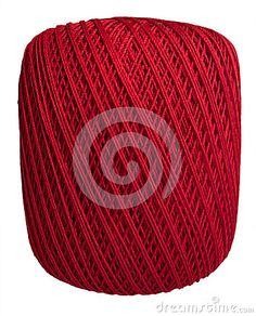 Photo about This is a closeup image of a ball of red cotton thread isolated on a white background. Image of yarn, metal, closeup - 71735086 Cotton Thread, Close Up, Objects, Stock Photos, Red, Image