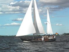 """""""Wanda-Maria"""" was built in 1998. She is non-commercial family boat.   She sails only around the Baltic Sea."""