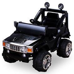 Elektro Kinderauto Hummer Jeep A30 mit 2 x 35 Watt Motor Elektro Kinderauto Kinderfahrzeug in mehreren Farben