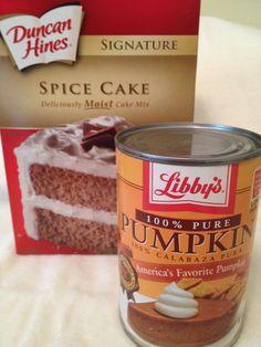 Weight Watchers Pumpkin Cake Mix Muffin Recipe