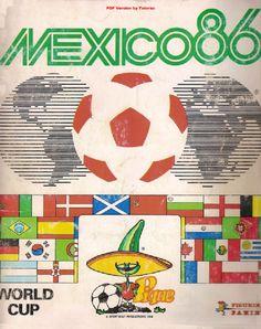 Αποτέλεσμα εικόνας για world cup panini mexico 86