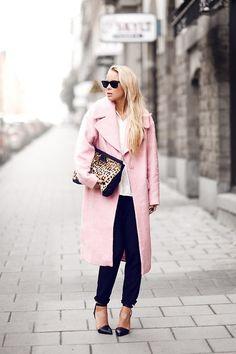 Lovely Pink Coat | Mode | Pinterest