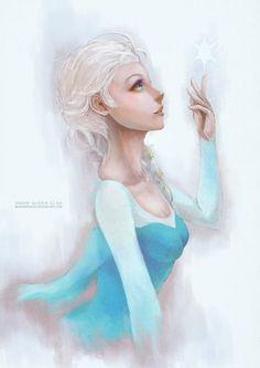 Elsa by MonoriRogue on DeviantArt