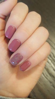 127 trendy acrylic nail designs for valentines day 5 Gelish Nails, Nail Manicure, Nail Polish, Acrylic Nail Designs, Acrylic Nails, Cute Nails, Pretty Nails, Hair And Nails, My Nails