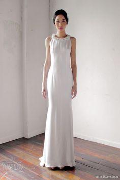 alia bastamam bridal 2013 sleeveless wedding dress