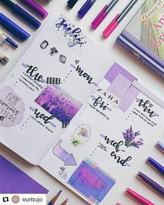 """698 likerklikk, 2 kommentarer – Bullet Journal features (@bujobeauties) på Instagram: """"By @ourbujo Tag your photos with #bujobeauty for a chance to be featured ・・・ Helloo here's a…"""""""
