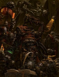 """omercifulheaves: """"Art by Adrian Smith """""""