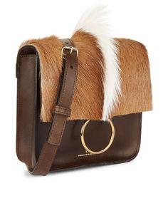 Brown Leather Palma Bag