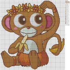 Monkey » Birdie Stitching