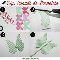 Hoje o WSI trouxe uma dica muito fofa e simples de fazer para você decorar os canudos da sua festa!