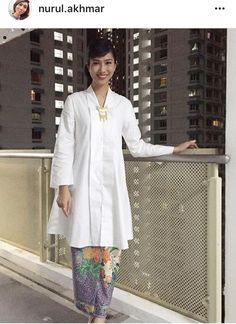 White flare kebaya                                                                                                                                                                                 More