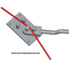 Wire bending tools and jigs - - draht Metal Bending Tools, Metal Working Tools, Metal Tools, Bending Plywood, Conduit Bending, Metal Projects, Welding Projects, Homemade Tools, Diy Tools