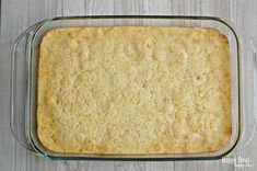 Check out this highly popular corn pudding or corn casserole recipe that is a tried and true holiday favorite! It is the sweetest and the best corn casserole! Perfect for Thanksgiving or Easter dinners! Veggie Casserole, Casserole Recipes, Bread Recipes, Cornbread Casserole, Yummy Recipes, Sweet Corn Pudding, Corn Pudding Recipes, Good Food, Yummy Food