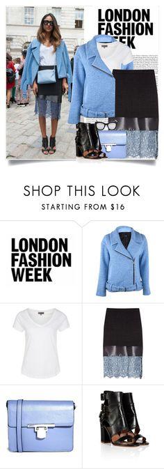 """london fashion week"" by lisamichele-cdxci ❤ liked on Polyvore featuring TIBI, Zalando, Topshop Unique, ASOS, Laurence Dacade, Wonderland and photo"