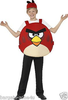 #Smiffys red #angry bird kids boys #fancy costume party clothes , View more on the LINK: http://www.zeppy.io/product/gb/2/252337751730/