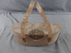 shopgoodwill.com: Vintage 1950's Wilardy Lucite Mirror Purse Sold for $151