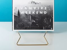 The Stage vinyl rack is the perfect way to display your records in a modern and iconic aesthetic. The bent wire design ensures that your collection is displayed in an upright fashion, while allowing you to filter through your LPs with ease. Vampire Weekend, Lps, Filter, Living Spaces, Art Pieces, Stage, Wire, Display, Creative