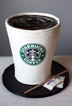Starbucks Cup Cake @Jody Rieck Coghill