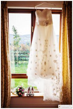 Wedding Dress Portrait - clonmel wedding photography