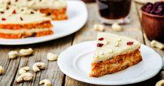 Mrkvovo-tekvicová torta - dôkladná príprava krok za krokom. Recept patrí medzi tie najobľúbenejšie. Celý postup nájdete na online kuchárke RECEPTY.sk. Healthy Desserts, Raw Food Recipes, Cake Recipes, Sin Gluten, Lactose Free Diet, Cashew Cream, Raw Vegan, Tofu, Healthy Lifestyle