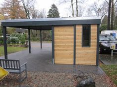 Modernes Carport