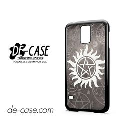 Supernatural Logo DEAL-10365 Samsung Phonecase Cover For Samsung Galaxy S5 / S5 Mini