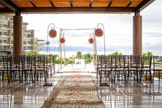 Another wedding style option available on the lobby deck. Spectacular view. Available at both Now Amber and Secrets Vallarta