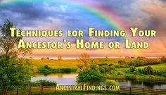 Why should you look for your ancestor's home or land in your genealogy research? There are many good reasons. Here's why and how you can locate their residence... http://www.ancestralfindings.com/techniques-finding-ancestors-home-land/