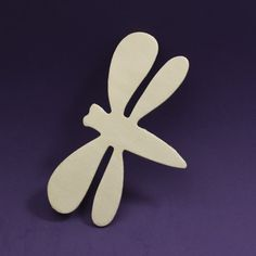 Unfinished Wood Dragonfly Cutout
