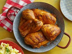 Dry-rubbed and grilled chicken from Bobby Flay