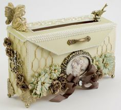 Beautiful mail box by Tara, featuring the A Day in May collection