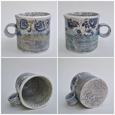 """""""asia ceramics"""" showcases the unique and beautiful ceramic pottery and jewellery of Joanna Szwej-Hawkin Pottery Marks, First Finger, Earthenware, Ceramic Pottery, Ceramics, Jewellery, Mugs, Studio, Tableware"""