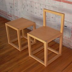 We both love Donald Judd - so this is a good model idea for the DIY tables too.