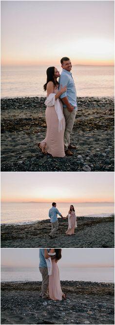Whidbey Island Couple Portraits {Oak Harbor Photographer}