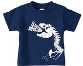 Personalized dinosaur t-shirt featuring by PricelessKids on Etsy
