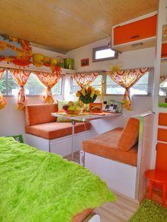 int rieur de caravane comment l 39 am nager caravane relooking pinterest caravane. Black Bedroom Furniture Sets. Home Design Ideas