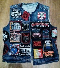 Unfinished battle jacket. tshirtslayer.com