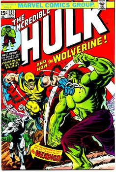 Incredible Hulk 181 (first full-issue appearance of Wolverine)