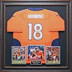 a1c5c9f65 DENVER BRONCOS JERSEY AUTOGRAPHED BY PEYTON MANNING AUTHENTIC Peyton  Manning Jersey