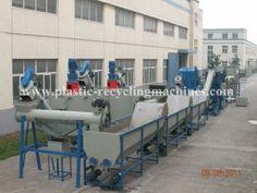 China Einzel / Doppel Schrauben Tank, Dampf Wäscheleine Abfälle Pet Flasche Recycling Maschine waschen Lieferant