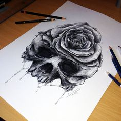 Tattoo Artist Dino Tomic Creates Incredibly Detailed Pencil Drawings
