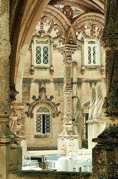 Hotel Bussaco Palace in Mealhada, Portugal