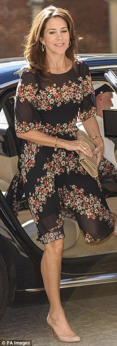 Princess Mary stuns in her favourite Dolce & Gabbana floral dress