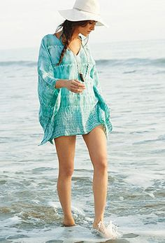 These cover ups are adorable and perfect to wear on the beach.