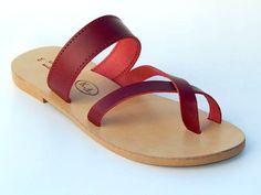 Sandalias de cuero hecho a mano de griego por babisg en Etsy