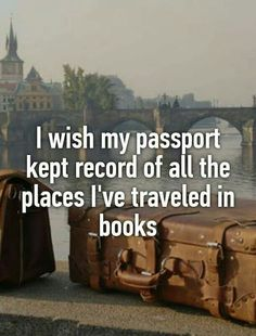 Instead of frequent customer card, book passports (for kids)